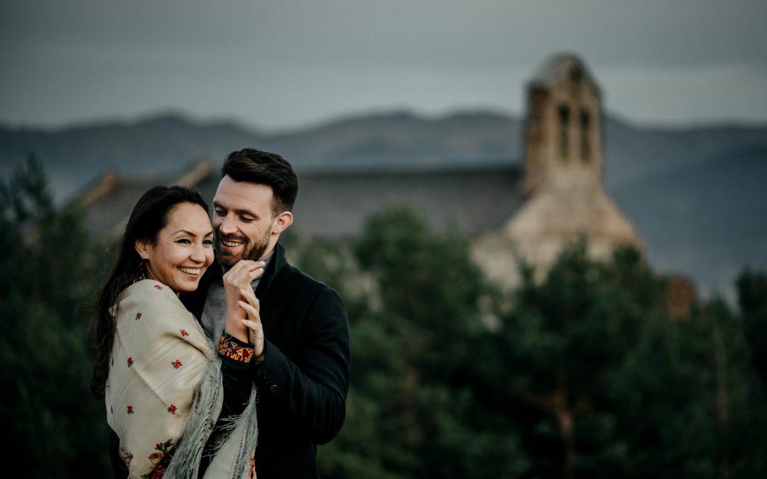 Séance couple en montagne – Pyrénées