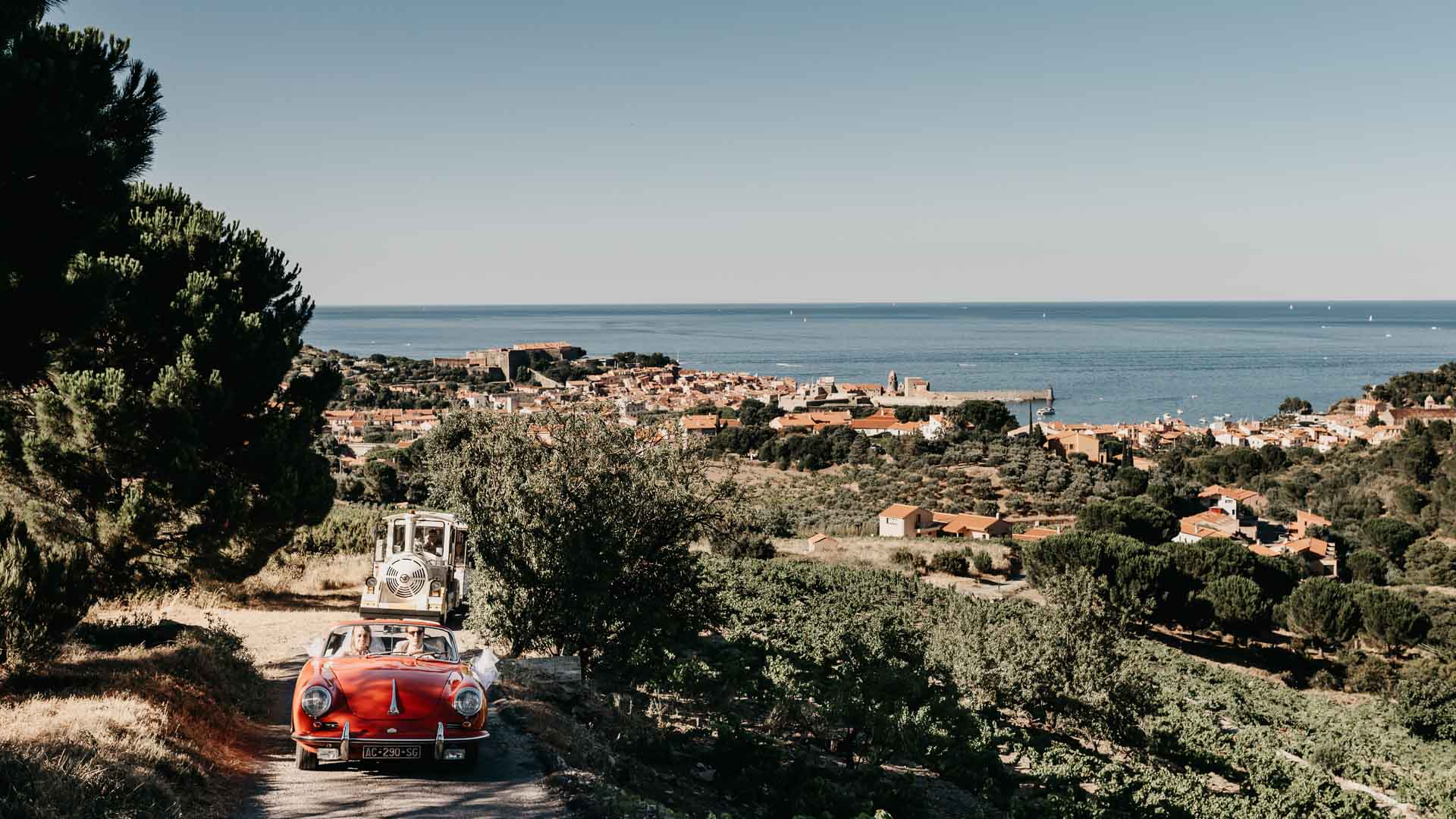 mariage au Fort Saint Elme à Collioure